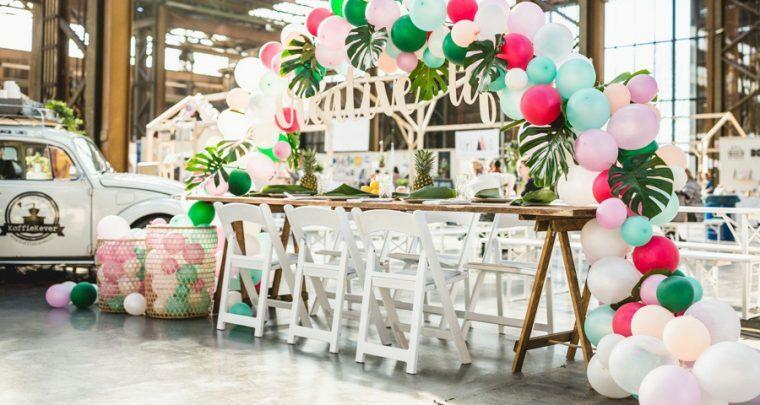 Bruiloftthema van de week: Tropical jungle!
