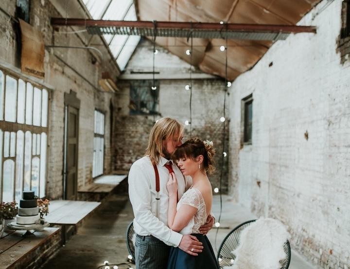 Inspiratie voor een industriële bruiloft (in België!)
