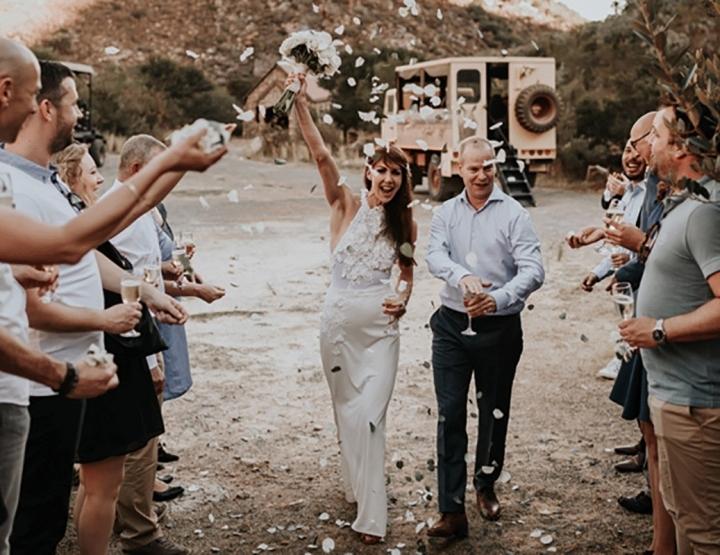 Hoe bijzonder trouwen in Zuid-Afrika kan zijn