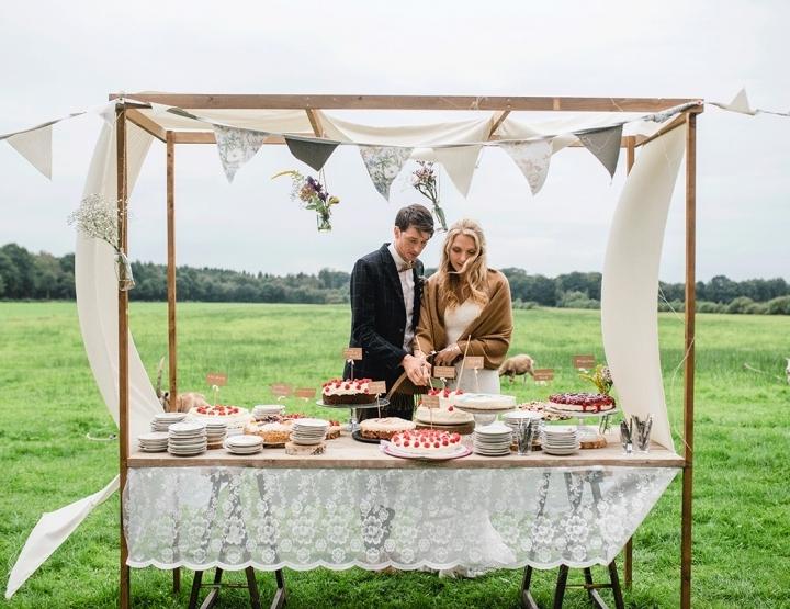 Michael en Anne trouwden op de hei
