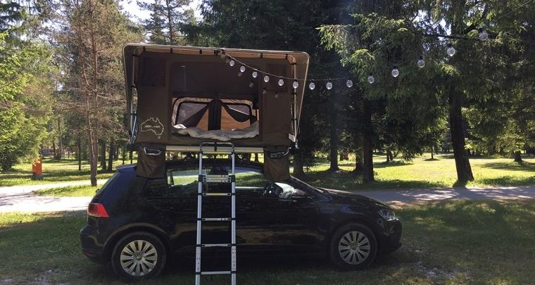 Honeymoon tip: samen op Eurotrip met een daktent!