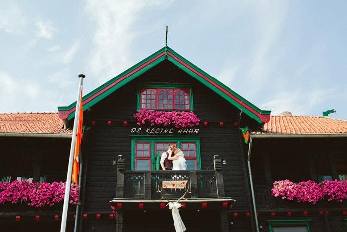 De Scandinavische bruiloft van Esther en Willem