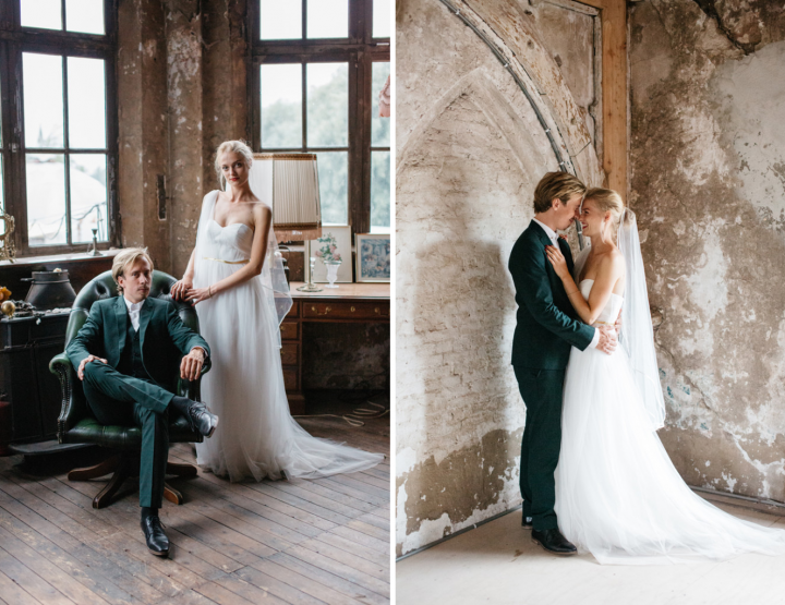 De mooiste binnenlocaties voor een (bruiloft) fotoshoot