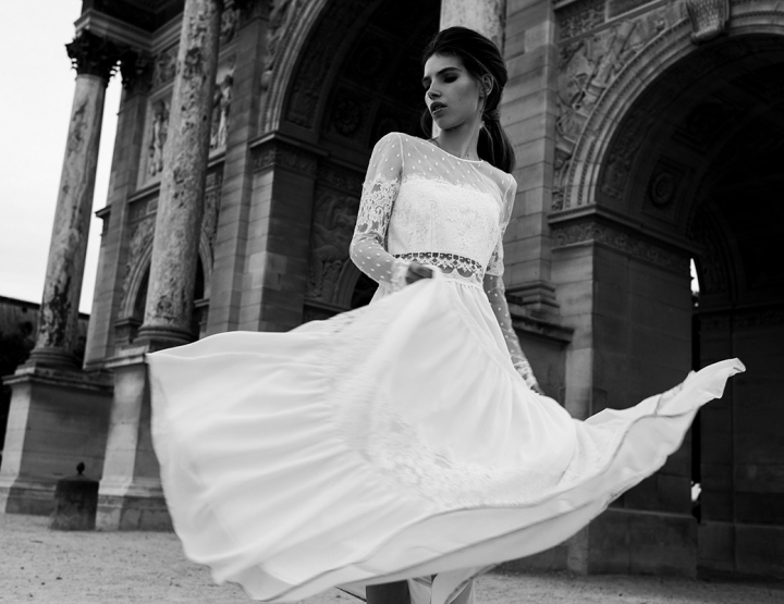 Inspiratie: prachtige beauty looks en handgemaakte trouwjurken uit Parijs