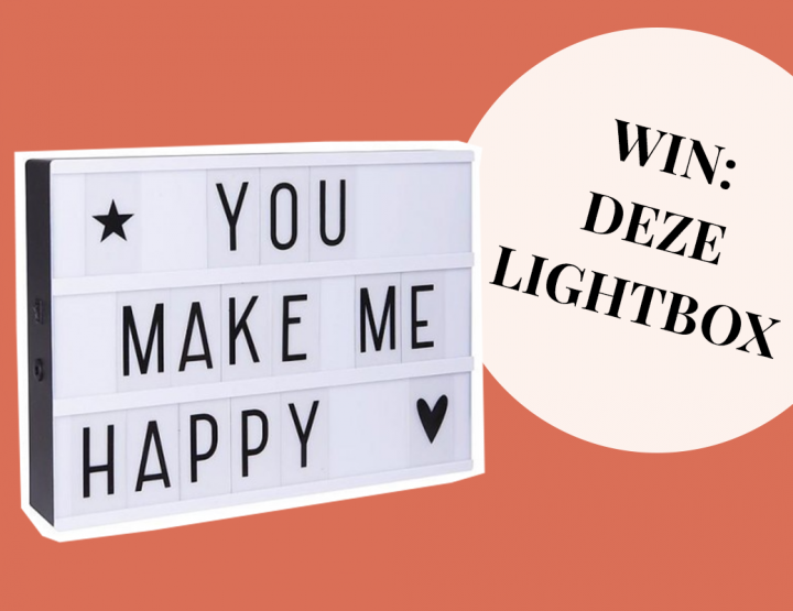 WIN: Een lightbox voor je bruiloft van In Style Styling