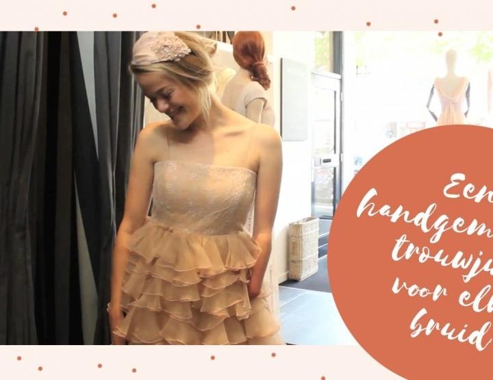 Een handgemaakte trouwjurk voor elke bruid; hoe werkt dat precies?!