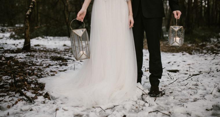 Tips voor een magische bruiloft in de winter