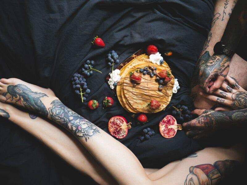 een veganistische bruiloft