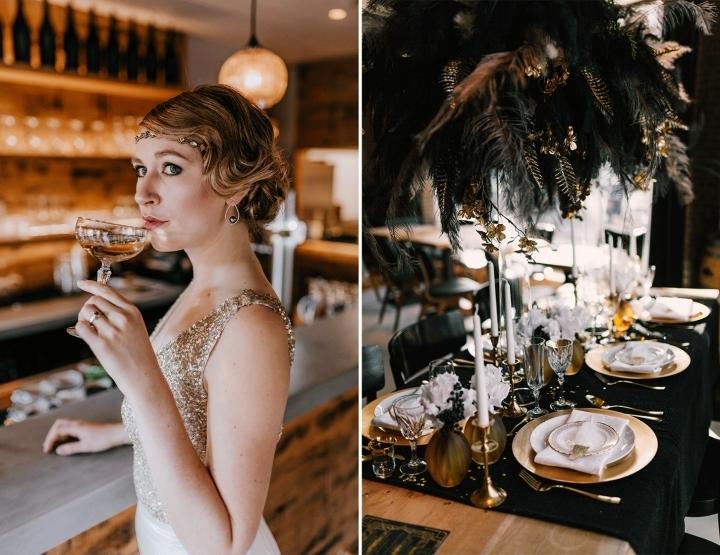 Perfect voor oud & nieuw: een Great Gatsby bruiloft!