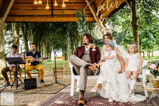 Een backdrop op je bruiloft; voor bij de ceremonie, een photobooth en meer!