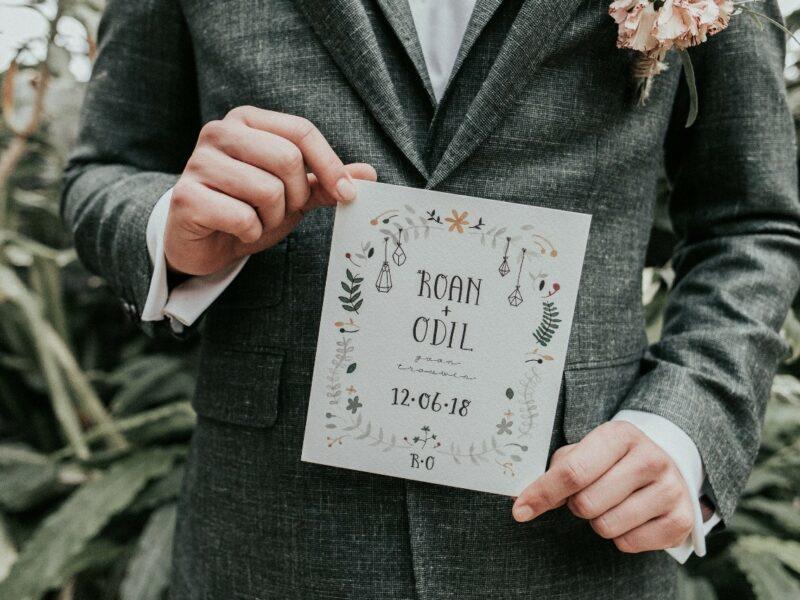 bruiloft stationery