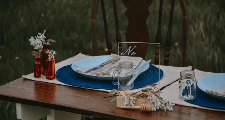 Bruiloftstyling huren; de voordelen