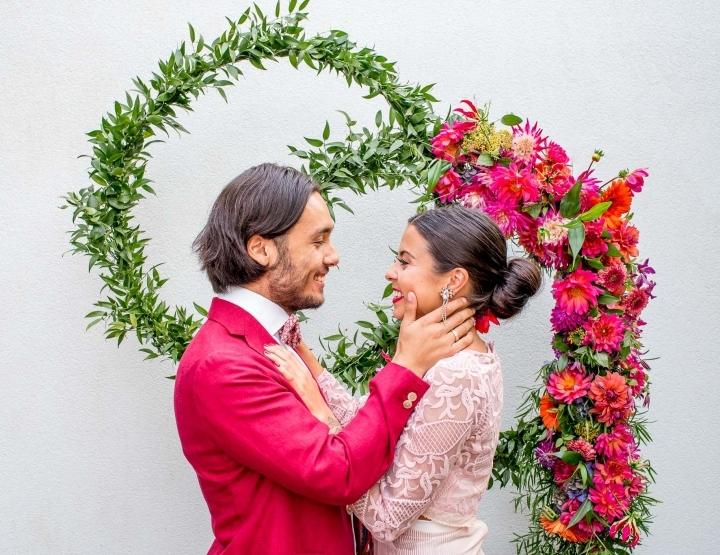 Een Spaanse bruiloft in een Nederlandse achtertuin!