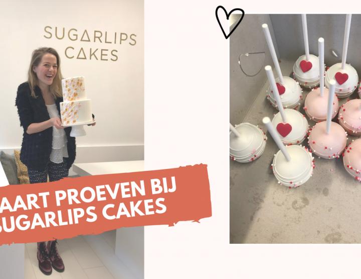 Video: bruidstaart proeven bij Sugarlips Cakes in Utrecht!