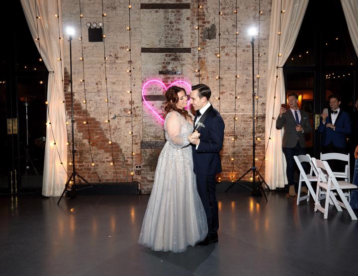 Deze galaxy bruiloft van twee acteurs wil je echt even zien!