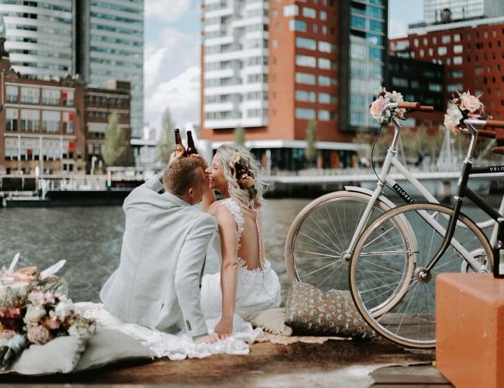 Zo organiseer je een urban city thema bruiloft!