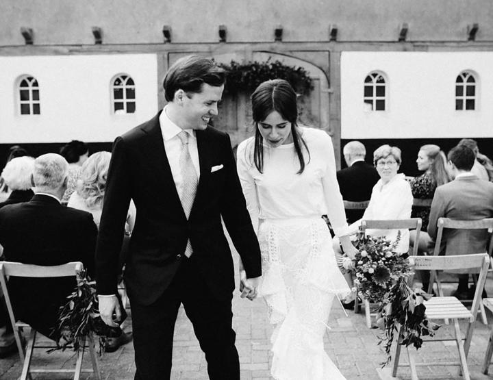 Real wedding: Blogger Carolijn trouwde zonder 'echte' trouwjurk