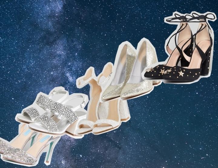 Trouwschoenen voor een themabruiloft: de galaxy bruiloft!