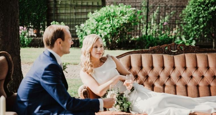 De rustieke bruiloft van Linda en haar man was een plaatje!