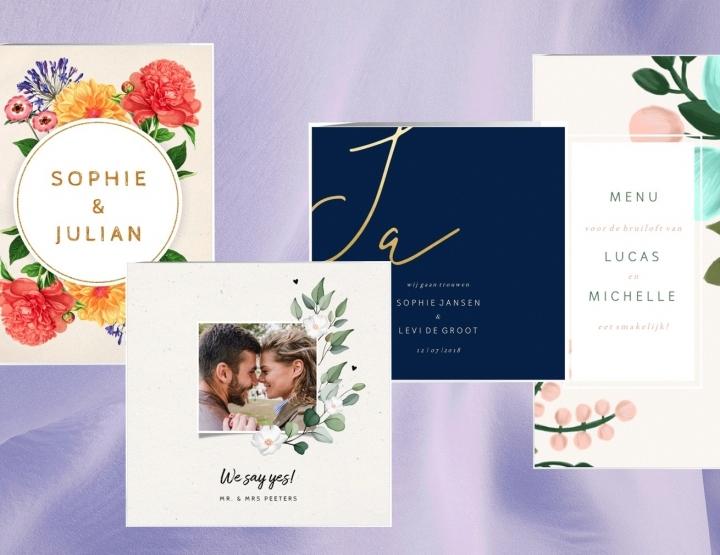 Mijn favoriete trouwkaarten bij Kaartje2go