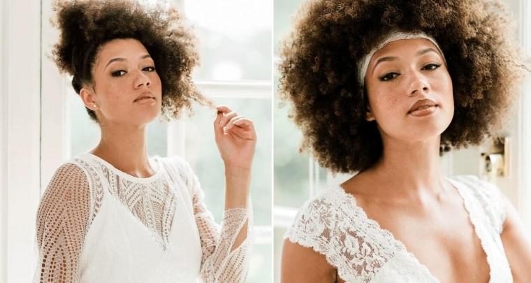 5 bruidskapsels voor bruiden met natural hair