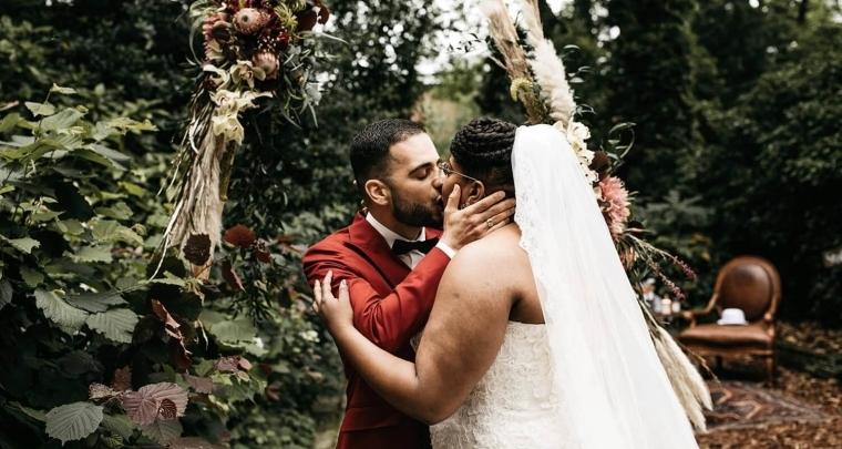 Deze bruid en bruidegom wisten hun culturen samen te smelten tot een fantastische bruiloft!