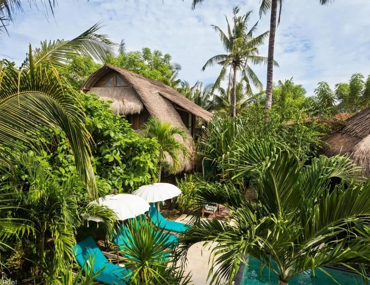 Honeymoon Hotspot: Tigerlillys hotel, jungle paradijs in Nusa Lembongan bij Bali