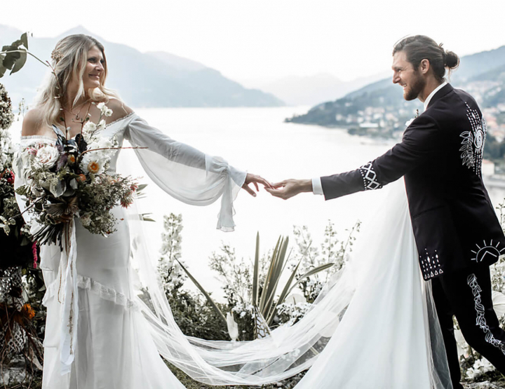 Real wedding: de bruiloft van de bridal designer van Daughters of Simone!