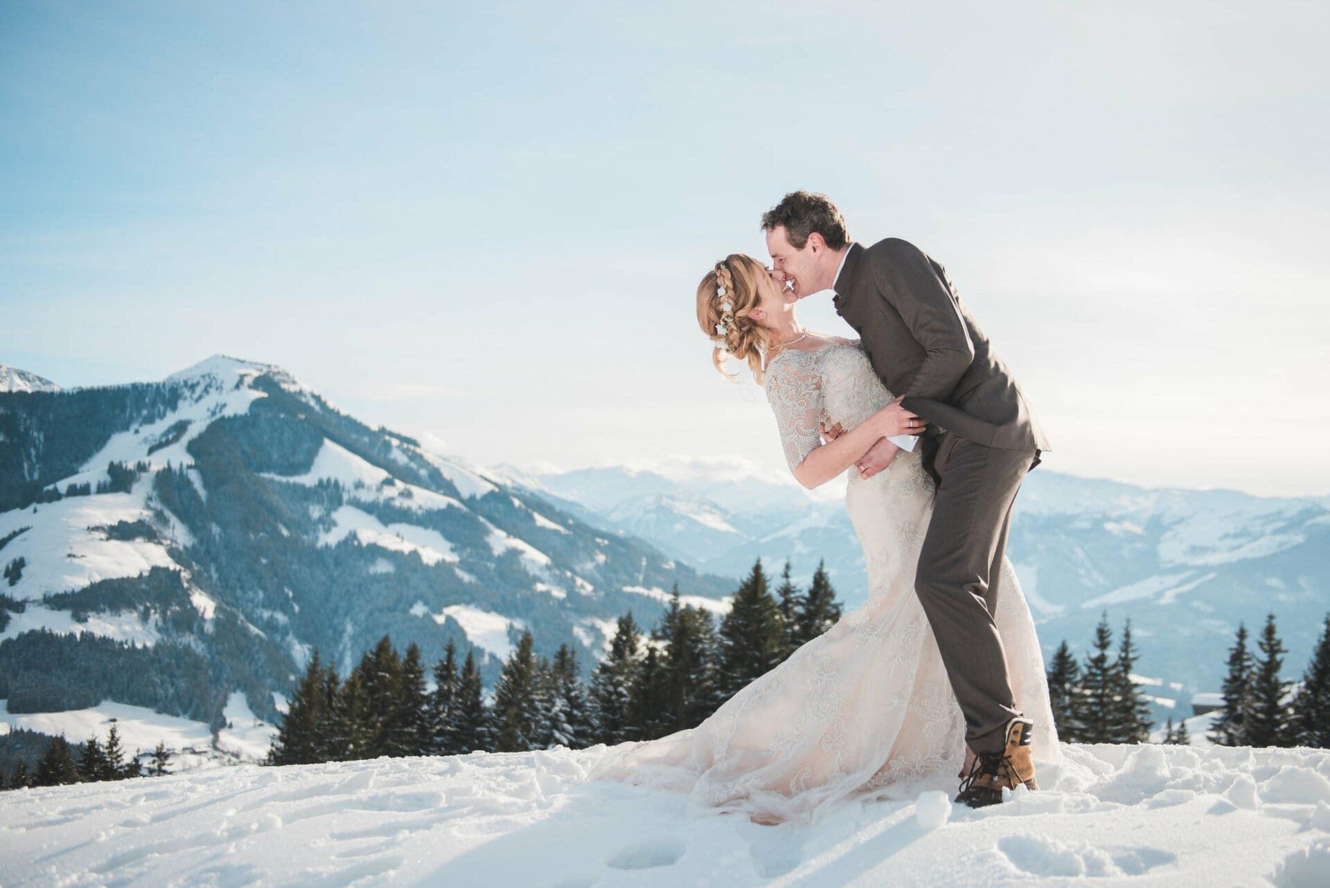 winterse bruiloft - Girls of honour