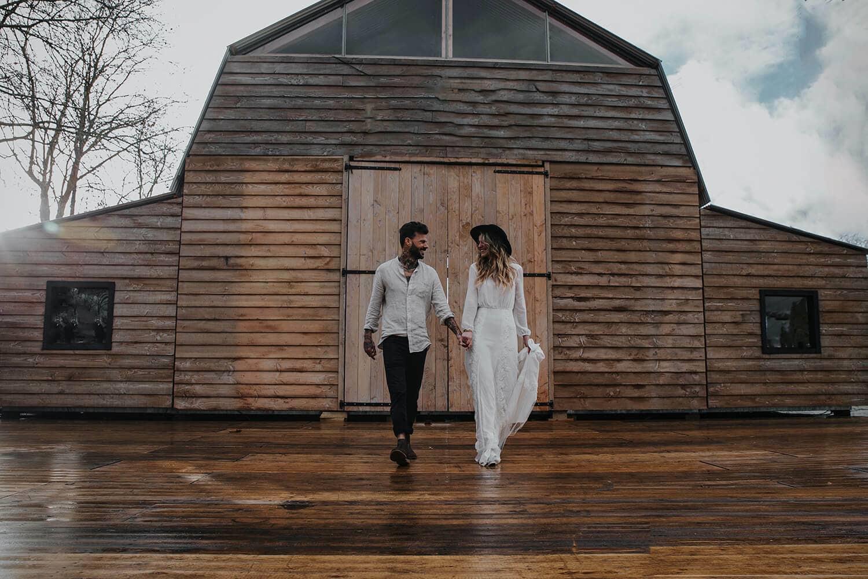 Betere Bruiloft inspiratie: Trouwen in een schuur, gewoon in Nederland! BY-93