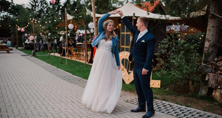Real Wedding: Een super relaxte bruiloft organiseren? Deze bruid deed het helemaal zelf!