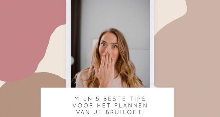 Video: mijn 5 beste tips voor het plannen van je bruiloft