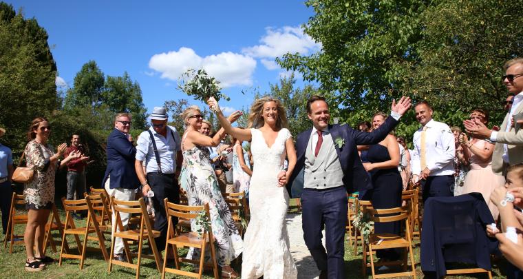 Real Wedding: Een botanical & bohemian bruiloft in Frankrijk