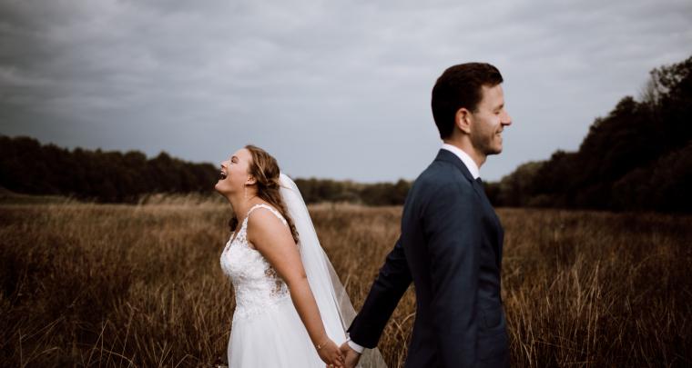 Real Wedding: Een betoverende boerderij bruiloft in Groningen