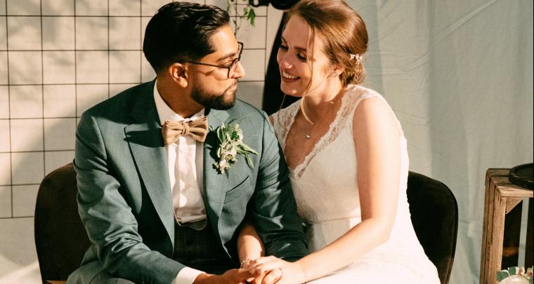Real wedding: een persoonlijke festivalbruiloft in een filmstudio!