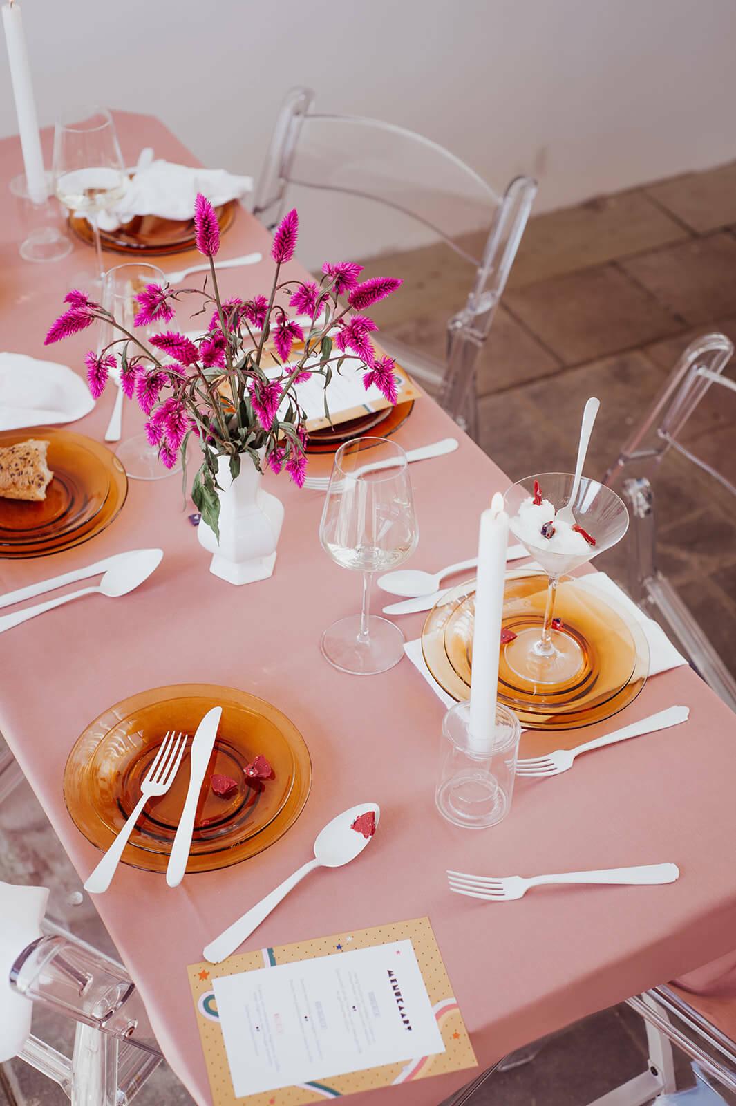 creatieve en persoonlijke bruiloft