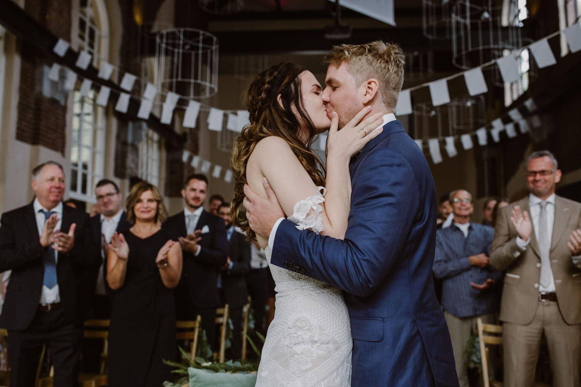 intieme en persoonlijke bruiloft