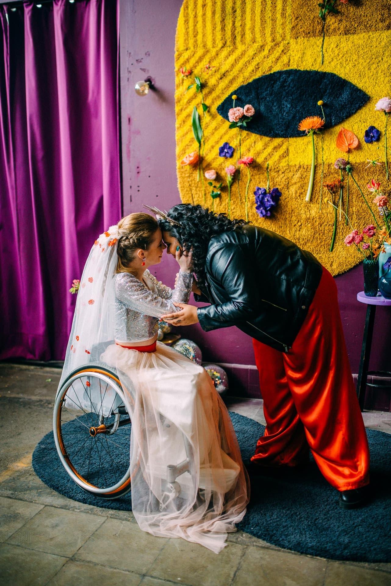 originele bruiloft inspiratie