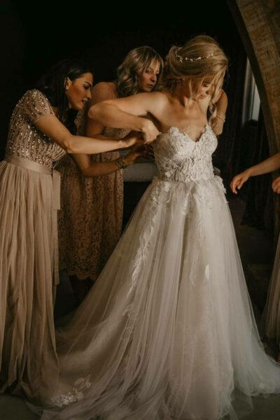haarinspiratie bruidsmeisjes