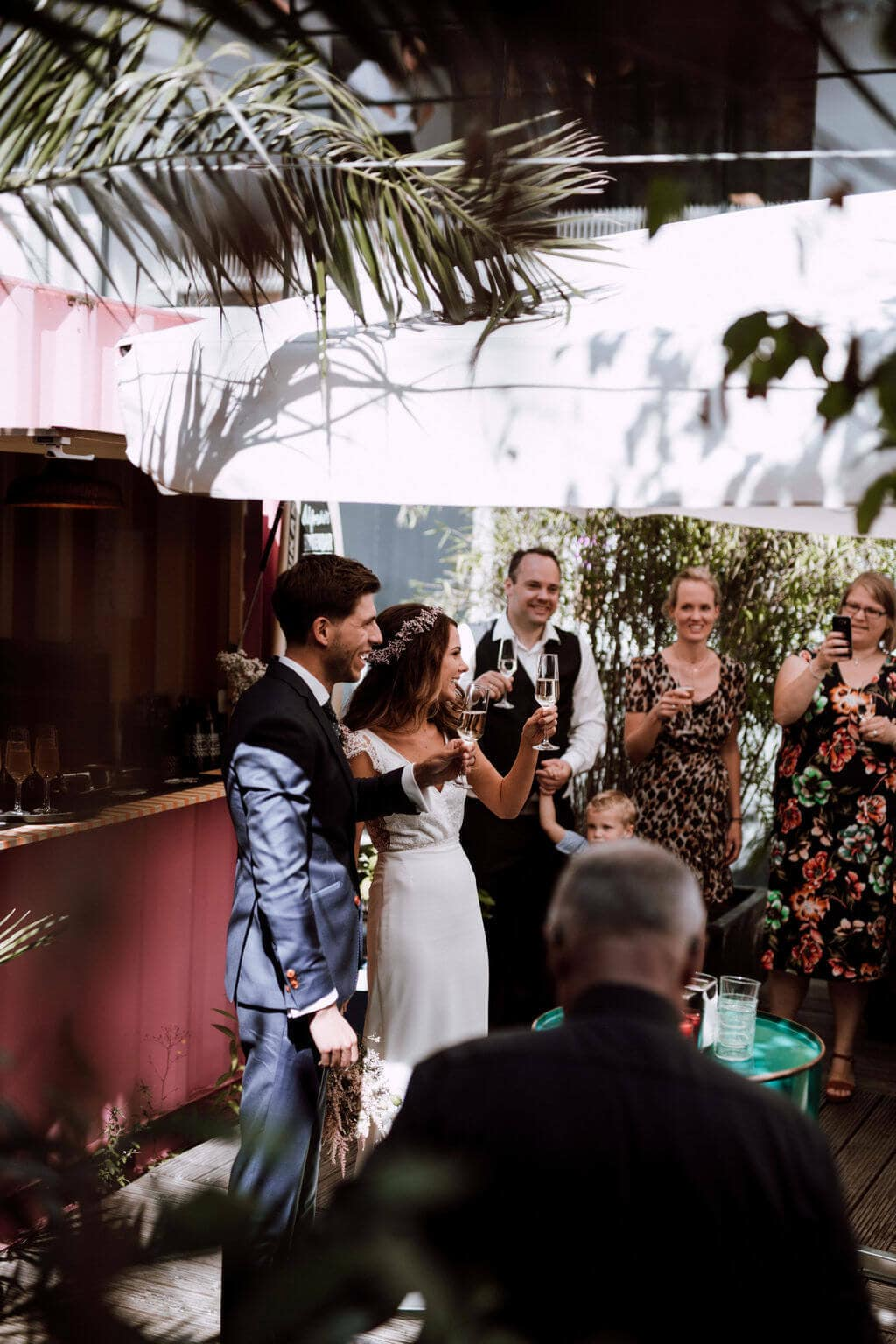 bruiloft in Rotterdam