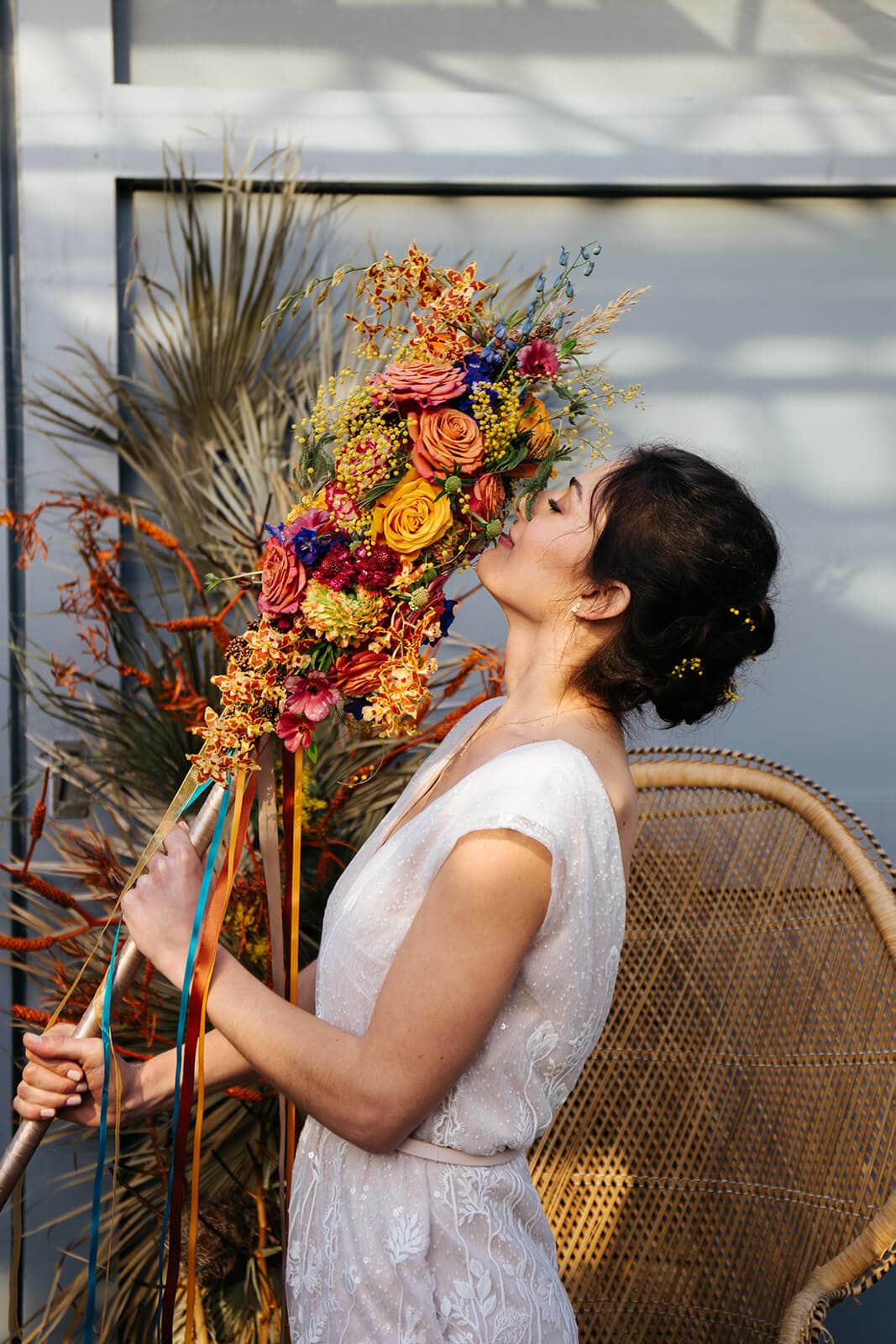 Bruiloft thema bohemian