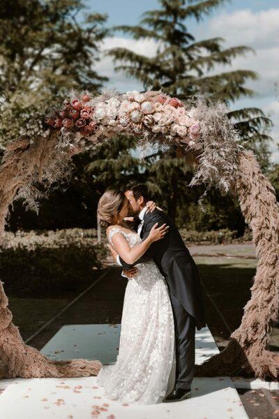 romantische real wedding
