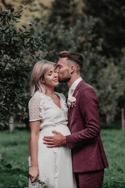 trouwen en zwanger