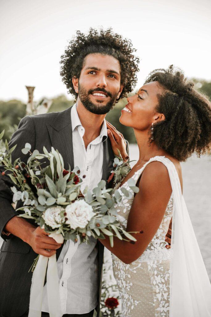 prachtige trouwfoto's