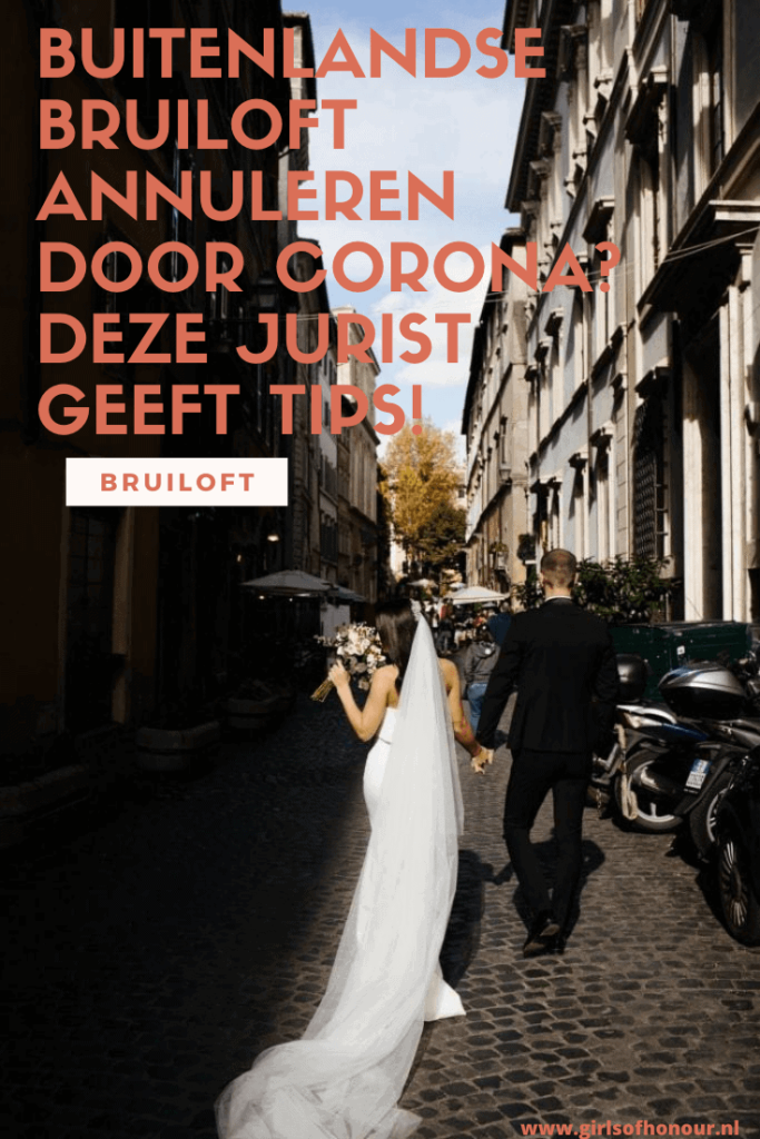 buitenlandse bruiloft corona