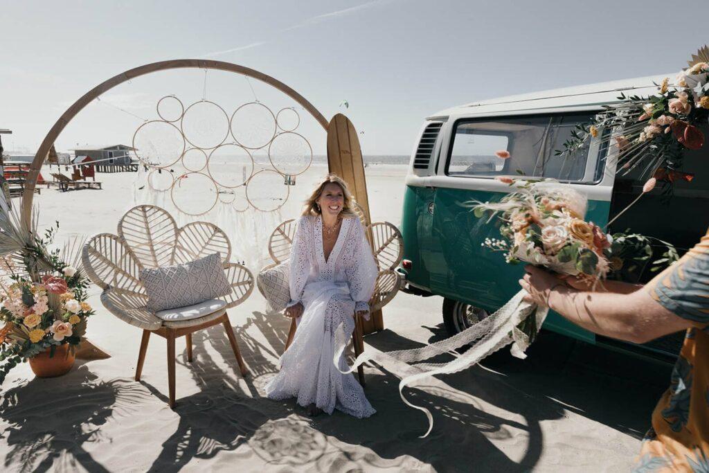 Zero waste bruiloft inspiratie
