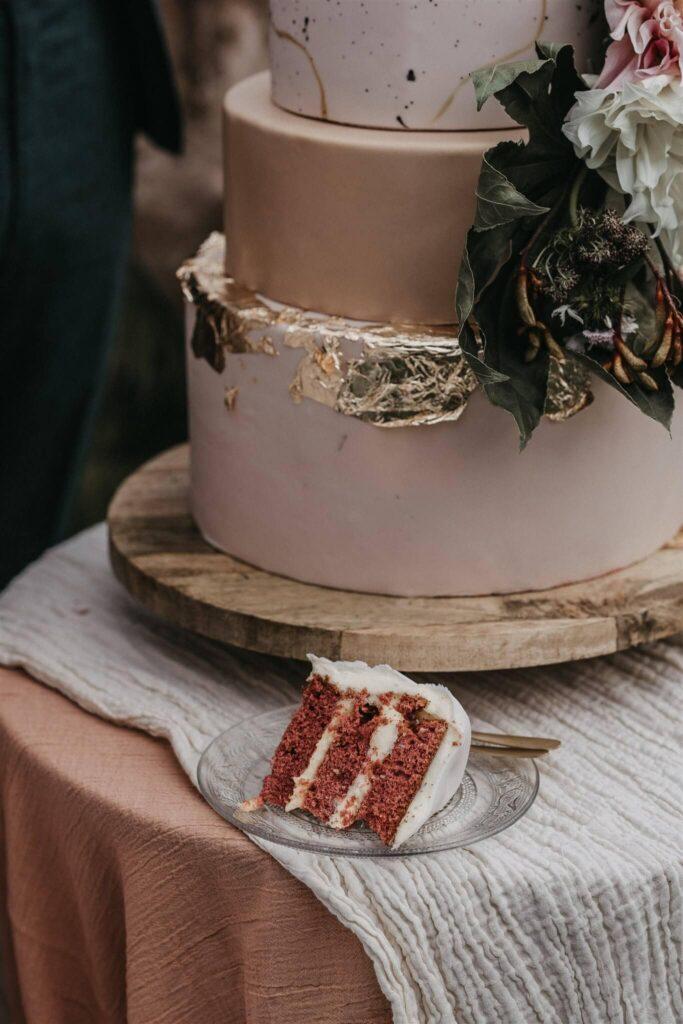 bruiloft met openluchtbioscoop