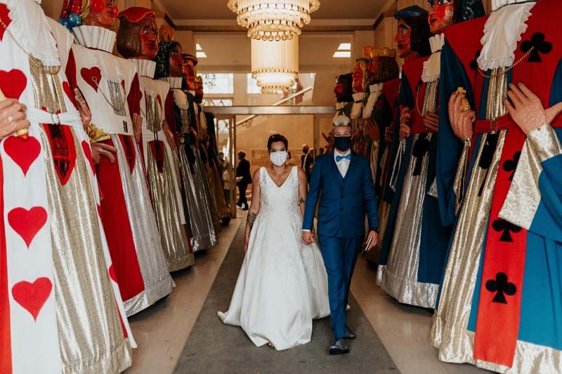 coronaproof real wedding in België