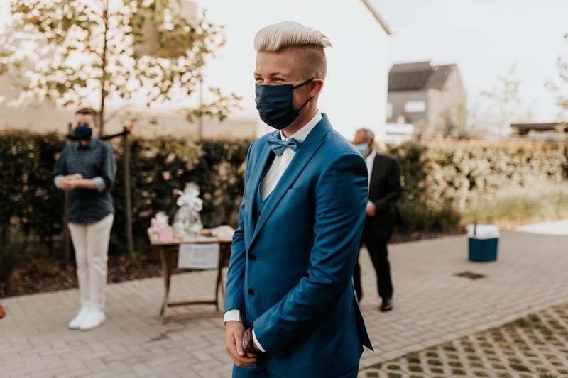 coronaproof real wedding België