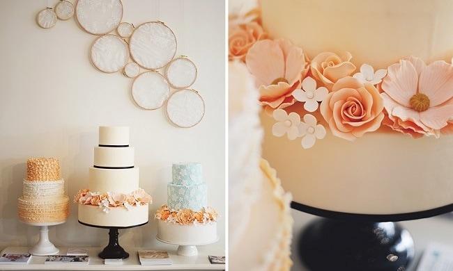 Bruidstaart van Sugarlips Cakes